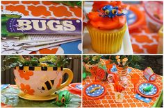 Send guests home with a bug identification book