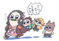 Read Kimetsu No Yaiba / Demon slayer full Manga chapters in English online! Kawaii Chibi, Anime Chibi, Anime Art, Demon Slayer, Slayer Anime, Manhwa, Chapter 55, Anime Stickers, Anime Demon