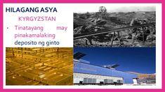 HILAGANG ASYA TAJIKISTAN • May tatlong uri ng yamang mineral