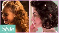 Cinderella Inspired Half Updo For Short Hair | Disney Style