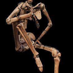 Life-Sized Skeletal Artist Model /Mannequin :: Obsolete #mecha – https://www.pinterest.com/pin/108930884716084079/