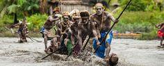 Los primeros marineros del Pacífico probablemente hicieron uso de El Niño y otros patrones climáticos. La colonización de las islas de Oceanía quizás suponga la migración humana más ambiciosa e increíble del ser humano. ¿Cómo se produjo, en qué orden y cómo lo consiguieron?