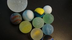 Going Marbles! I've got a weakness for marbles, as so many hunters do.   On a good day, I find one, maybe two.   On a beautiful summer's day last year I went out to a