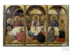The Last Supper Giclee Print by Sassetta at Art.com