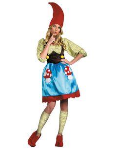Zwergin Damenkostüm Märchen rot-grün-blau, aus unserer Kategorie Märchenkostüme. Diese Zwergin ist zwar klein, hat es aber faustdick hinter den Ohren. Sie ist im ganzen Märchenwald für ihre Streiche bekannt und verdreht allen Zwergen den Kopf. Ein tolles Kostüm für Fasching und Mottopartys.