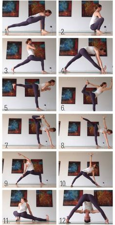 Yoga Sequence to Help You Build a Stronger Body Yoga for runners.Yoga for runners.Dynamic Yoga Sequence to Help You Build a Stronger Body Yoga for runners.Yoga for runners. Yoga Bewegungen, Hatha Yoga, Sup Yoga, Yoga Moves, Kundalini Yoga, Yoga Vinyasa Sequence, Yoga Exercises, Bhakti Yoga, Hamstring Stretches