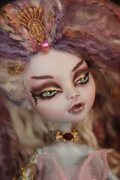 OOAK Mermaid Monster High Doll Lagoona Repaint Reserved for Danielle