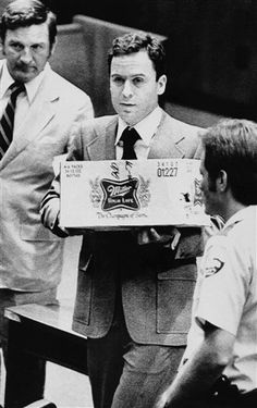 Ted Bundy was a serial killer who murdered over 30 women in the in the US. Read about his crimes,victims, capture, escapes, trial and his execution. Ted Bundy, Famous Serial Killers, Prison Life, Jeffrey Dahmer, True Crime, Robert Pattinson, Rare Photos, Beautiful Men, At Least