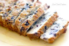 Grain-Free Blueberry Bread {with Coconut Flour & Gelatin} - Real Food OutlawsReal Food Outlaws