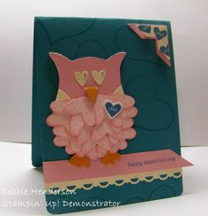 Debbie's Designs: Etsy Valentine's Cards For Sale