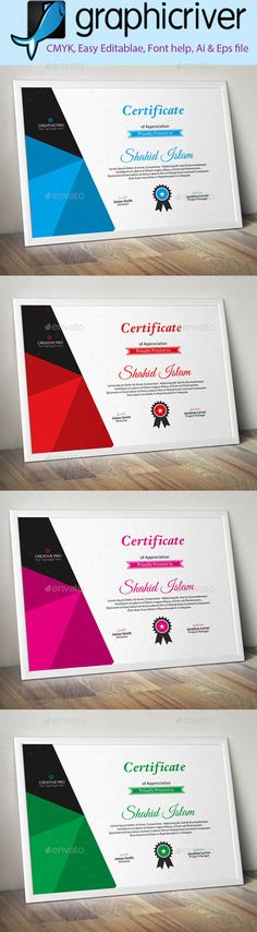 Multipurpose Certificate Certificate, Certificate design and - corporate certificate template