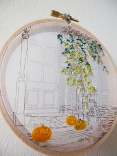 """""""Http://shuyulu.com"""" Halloween Eve-detail beautiful sketch and embroidery"""