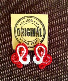 Handmade ZuzDesign soutache earings More Fun, Jewelery, The Originals, Handmade, Jewlery, Jewels, Hand Made, Jewerly, Schmuck