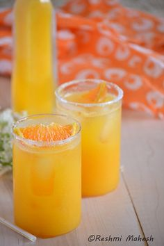 Pineapple Orange Agua Fresca | This Pineapple Orange Agua Fresca is a perfect drink for a hot sunny day.@funwidfud