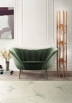 Entrance Hall | ANDES 2 Seat Sofa and KENDO Floor Lamp | Brabbu | See more: https://www.brabbu.com/en/all-products.php