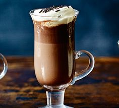 This sumptuous and creamy, boozy blend is made with dark chocolate, double cream and a touch of mint liqueur