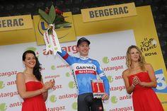 Tour de France 2014 - Stage 19: Maubourguet Pays du Val d'Adour - Bergerac 208.5km - Tom-Jelte Slagter (Garmin-Sharp) was voted most combative rider