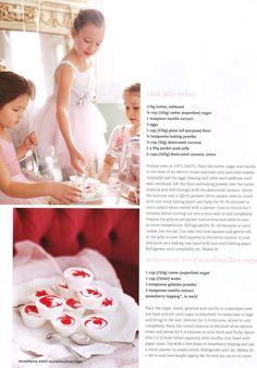 Strawberry swirl marshmallow cups - DustJacket Attic