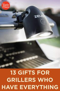 13 Gifts for Grillers Who Have Everything 25 Days Of Christmas, Christmas Gifts, Grilling Gifts, Grill Master, Taste Of Home, Food Festival, Food Gifts, Everything, Cheer