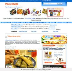 <3 Pinoy Recipe A Collection Of The Best Filipino Recipes, Asian Recipes