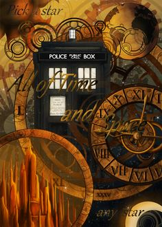 All of Time and Space: Doctor Who 50th Anniversary by Jay-R-Took.deviantart.com on @DeviantArt