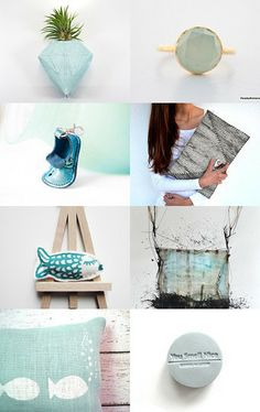 Ocean Blue by Anya on Etsy--Pinned with TreasuryPin.com