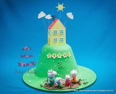 Jake's Cakes: Peppa Pig cake
