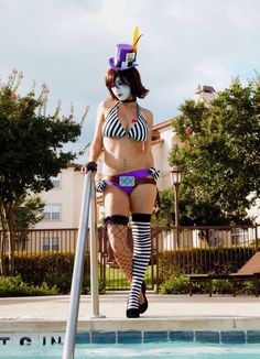 A.B.C.L Mad Moxxi Swimsuit Cosplay