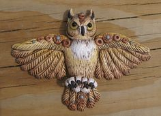 "For the #FriesenProject on @KatersAcres blog - Book 6 ""Birds of a Feather"" by Christi Friesen - Owl project by Laurie Grassel"