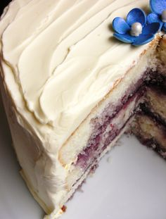 Lemon Blueberry Butter Cake / Stephanie / CC BY-NC-ND A refreshing lemon and berry cake is all you need this summer to enjoy the long, gorgeous, sunny days to come! Stacked between layers of blueberry filling and frosted with a … Continue reading →