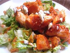 Buffalo Chicken Salad Phase one     http://www.thedoctorstv.com/forums/527-17-Day-Diet-Recipes/topics/9187-Buffalo-Chicken-Salad-Cycle-1