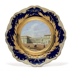 BY THE IMPERIAL PORCELAIN FACTORY, ST. PETERSBURG, PERIOD OF NICHOLAS I