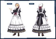 Maid Outfit Anime, Anime Maid, Anime Outfits, Boy Outfits, Victorian Maid, Maid Cosplay, Maid Uniform, Dress Drawing, Maid Dress