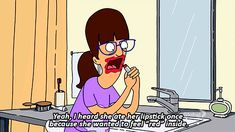When you just have too many feelings. | Proof That Gayle Of Bob's Burgers Is All Of Us