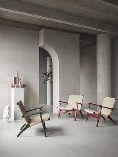 1950s Design, Iconic Dresses, Hans Wegner, Nordic Design, Danish Design, Soft Furnishings, Chair Design, Icon Design, Colours