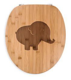 WC Sitz Elefant aus Bambus  Coffee - Das Original von Mr. & Mrs. Panda.  Ein wunderschöner WC Sitz aus naturbelassenem Bambus Coffee mit unsere speziellen und liebvollen Mr. & Mrs. Panda Gravur    Über unser Motiv Elefant  Dickhäuter kommen neben dem Zoo in freier Wildbahn in der Savanne vor und sind die größten lebenden Landtiere. In Afrika und Asien ist der Elefant heimisch. Die Rüsseltiere sind friedlich und sehr schlau, wirken jedoch durch ihre Größe und ihre mächtigen elfenbeinfarbigen…