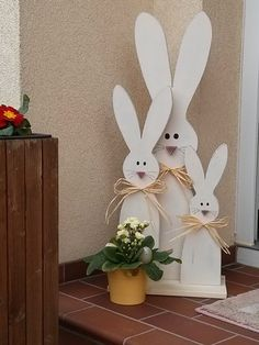 hase osterhase aus holz im shabby chic pinterest shabby chic schick. Black Bedroom Furniture Sets. Home Design Ideas