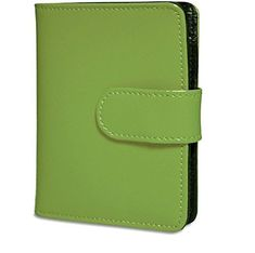 Jack Georges Ladies TriFold Green One Size * More info could be found at the image url.