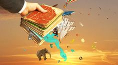 Concept of reading. Man's hand holding magic book with falling letters animals and other objects from this book. Concept of dreaming. Cute Couple Quotes, Funny Quotes For Teens, Funny Quotes About Life, Cute Couples Texts, Cute Couples Cuddling, Cute Couples Goals, Couple Picture Poses, Cute Couple Pictures, Design Seeds