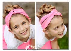 Girls Camp Craft - Tshirt Crafts and Headbands Tutorial ~ Sugar Bee Crafts