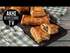 Κοτοπιτάκια με Mπεσαμέλ Επ. 58 | Kitchen Lab TV | Άκης Πετρετζίκης - YouTube Greek Recipes, French Toast, Bread, Chicken, Breakfast, Food, Pie, Morning Coffee, Breads
