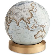 Bellerby and Co The Albion limited edition desk globe (€3.635) ❤ liked on Polyvore featuring home, home decor, office accessories, modern globe and modern office accessories