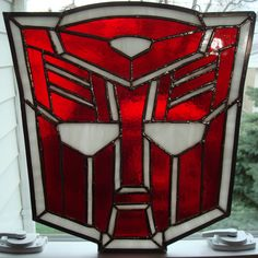 Stained glass Transformers! | B & B Glassworks