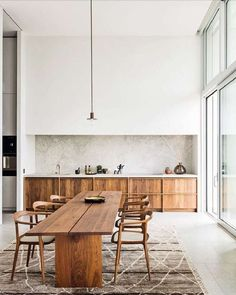 Cozy Kitchen and Dining Room Design Ideas For Eating With Family . Cozy Kitchen and Dining Room Design Ideas For Eating With Family Kitchen Inspirations, Kitchen Furniture, Kitchen Flooring, Interior, Kitchen Remodel, Modern Apartment Decor, House Interior, Minimalist Kitchen, Minimalist Kitchen Design
