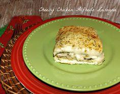 Cheesy Chicken Alfredo Lasagna