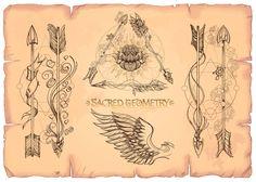 Sacred Geometry Set - Illustrations