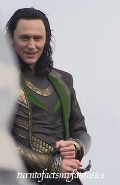 Tom Hiddleston #Loki in #ThorTDW | Looks like i am stealing this movie too