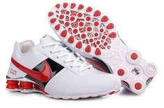 Shox Nike Shox Deliver White Black Red Shoes  Nike Shox Deliver -  Perforated leather upper for comfort Nike Shox columns for responsive  cushioning extended ... 105058bd73