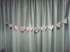 Lurrrrrve bunting! Bunting, Valance Curtains, Crafts, Home Decor, Garlands, Manualidades, Decoration Home, Room Decor, Buntings