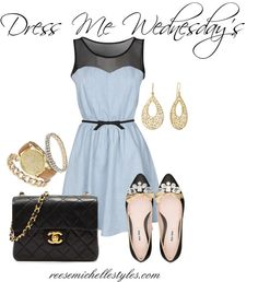 """""""Dress Me Wednesday's"""" by reesemichellestyles on Polyvore"""